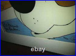 Hanna Barbera Animation Cel Inch Eye Private Eye Rare Super 70's Signed Art Cell