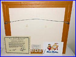 Hanna Barbera Cel Top Cat 30th Anniversary Rare Exclusive Signed Edition Cell
