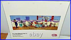 Hanna Barbera Cel Top Cat The Most Effectual Rare Signed Cell & Promo Page