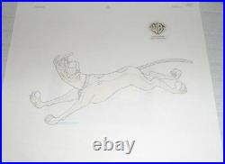 Hanna Barbera Scooby Doo Original Production Cel matching Drawing Witch's Ghost
