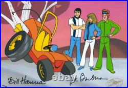 Hanna Barbera-Speed Buggy LE Cel Signed By Hanna and Barbera