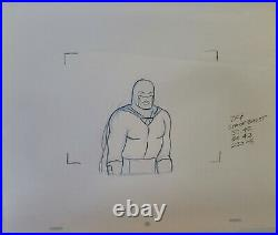 Hanna BarberaSpace Ghost Production Cel withMatching Drawing Signed Bob Singer