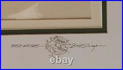 Hanna BarberaTop Cat + Gang Hand Painted Model Cel Signed/Remark by Bob Singer