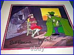 Hanna barbera cel signed perils of penelope pitstop rare super 70's cell