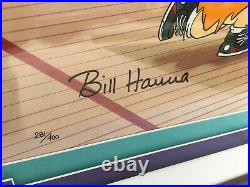 Limited Edition Hand Painted Hanna Barbera Animation Cel FAST BREAK Signed
