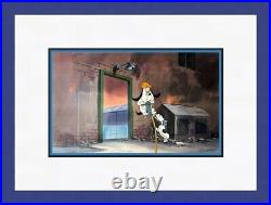 Original Hanna Barbera Droopy Dog Hand Painted Animation Production Cel FRAMED
