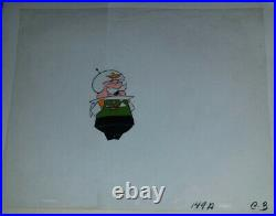RARE Hanna B Jetsons SEASON 1 1960s Animation Cel Col Countdown cell ink + paint