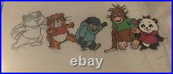 SHIRT TALES PRODUCTION Animation Cel Lot From 70s HANNA BARBERA