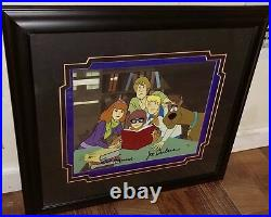 Scooby Doo Animation Cel Hanna Barbera Professor Hyde White Executive Proof Cell