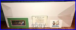 Scooby Doo Animation Cel Hanna Barbera Signed Where Are You Rare Edition Cell
