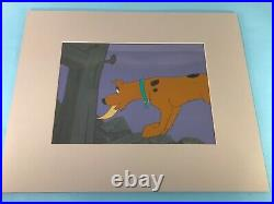 Scooby Doo Animation Production Cel Hanna Barbera with Production B. G. 1970s