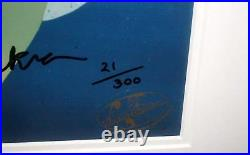 Scooby Doo Cel Hanna Barbera Signed Scrappy Flips For Scooby Rare Animation Cell