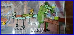 Scooby Doo Cel Nowhere to Hyde 492/500 Barbera/Hanna Signed Rare Edition