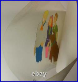 Scooby Doo Hanna Barbera Production Cel Portrait Fred Daphne Shaggy Hand Painted