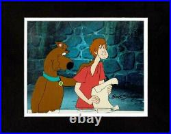 Scooby Doo Production Animation Art Cel Boo Brothers Hanna B Singer Signed 1987