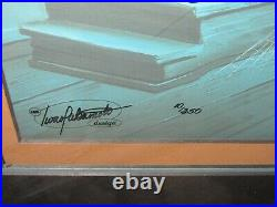 Scooby-doo Witless For The Prosecution Signed By Hanna+barbera Hand Paint Cel
